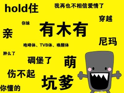Китайские популярные интернет-слова