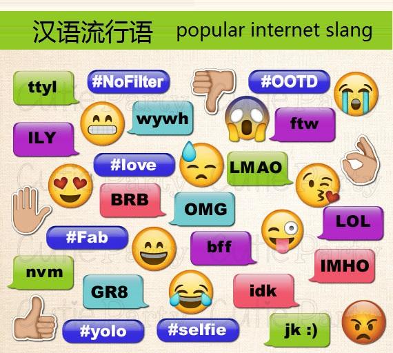 Китайские популярные интернет-слова 2