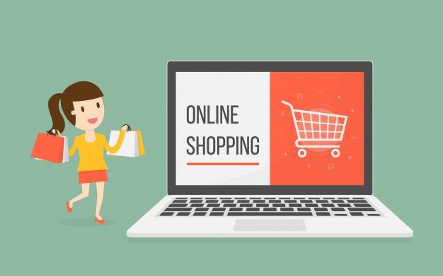 онлайн шопинг -线上购物-单词-实用对话